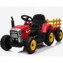 Tractor eléctrico para niños de 12v ROJO