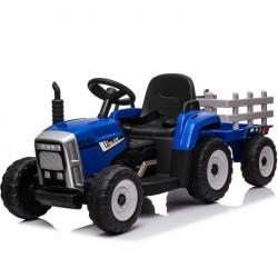 Tractor eléctrico para niños de 12v AZUL